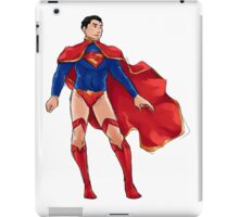 Superman dressed as Supergirl iPad Case/Skin