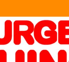 Burger Thing Sticker