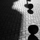 Spheres and their shadows, Motril, Andalucia by Fred Shively