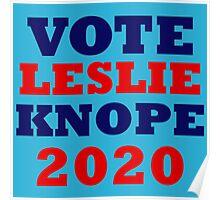 Vote Leslie Knope 2020 Campaign Poster
