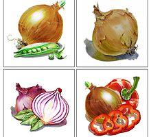 Happy Onions by Irina Sztukowski