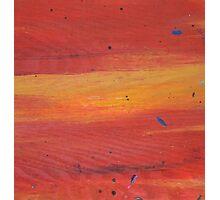 Red velvet Sunset Photographic Print