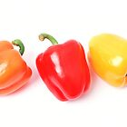 Three Peppers by Richard Heyes