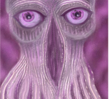 Open Your Third Eye to the Ood Sticker