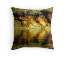 At The Waters Edge...Cascade, Idaho Throw Pillow