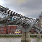 Millennium Bridge, London by Karen Martin IPA