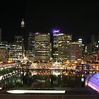 Sydney by night by Leanne Davis