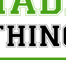 It's a SHADEL thing, you wouldn't understand !! Sticker