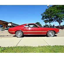 '69 Ford Mustang Mach 1 428 Photographic Print
