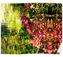 Springs Reflecting Waters Poster