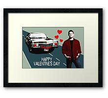 Baby Loves Dean (Text) Framed Print