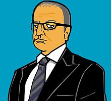 Dragons Den - Theo Paphitis by Donna Huntriss