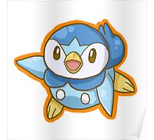 Piplup Poster