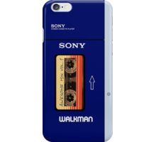 Guardians of the Galaxy Awesome Mix tape vol 1 Sony Walkman iPhone Case/Skin