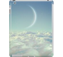 Dream Above The Clouds (Crescent Moon) iPad Case/Skin