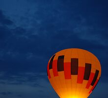 Late night Balloon Ride by Jason  Burris