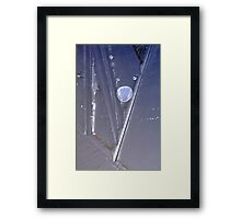 trapped bubble Framed Print