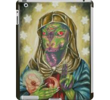 Blessed Reptilian Virgin and Child iPad Case/Skin