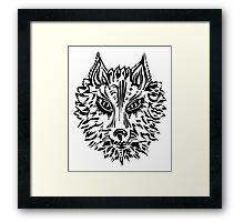 Wolf, Symbol Of Loyalty And Strength Framed Print