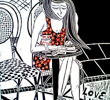 "Love in Paris by Belinda ""BillyLee"" NYE (Printmaker)"