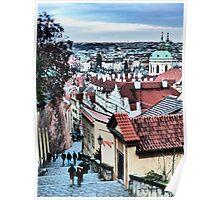 Prague Byways Poster
