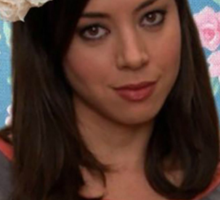 April Ludgate - I Hate People Sticker