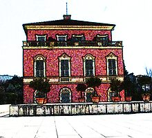 The house of Henri Matisse in Nice  by terjekj