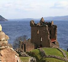 Castle Urquhart, Loch Ness by Gordon Christie