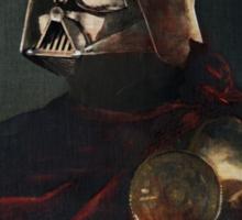 Darth Vader - Portrait (As a Knight) Sticker