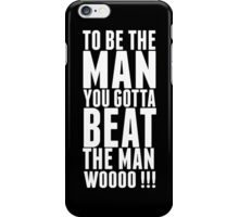 "Ric Flair ""Be The Man Quote""  iPhone Case/Skin"