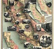 California - United States - 1888 by paulrommer