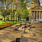 Legislature Grounds Series #3 by Myron Watamaniuk