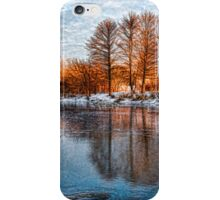 Cold Ice Trio - Lake Ontario Impressions iPhone Case/Skin
