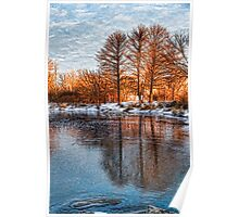 Cold Ice Trio - Lake Ontario Impressions Poster