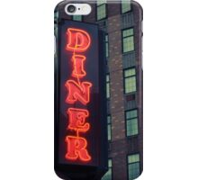 Dinner sign iPhone Case/Skin