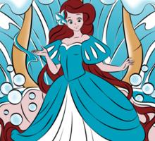 The King Triton's Daughter - Blue Dress Sticker