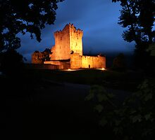 Ross Castle night view by John Quinn