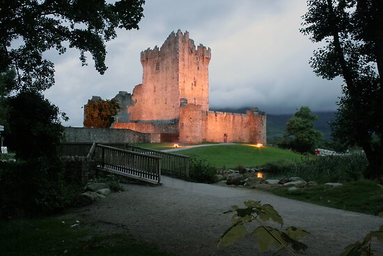 Ross castle evening view by John Quinn