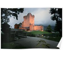 Ross castle evening view Poster