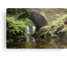 Torc Waterfall bridge Metal Print