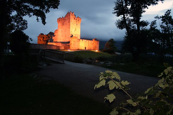 Ross castle late evening view by John Quinn