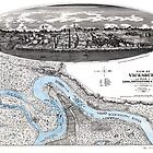 Vicksburg-Fortifications map-Mississippi-1863 by paulrommer