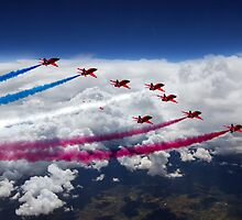 The Red Arrows Flight  by J Biggadike
