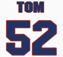 National baseball player Tom Morgan jersey 52 by imsport