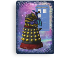 The Dalek and the Dragon Thief Canvas Print