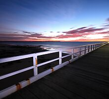 Point Lonsdale pier  by Andrew Widdowson