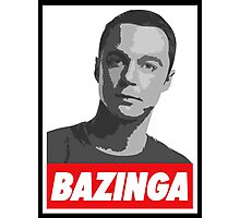 Dr. Sheldon Cooper - Bazinga Photographic Print