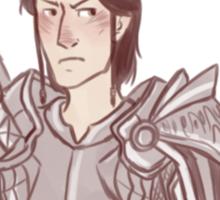 Dragon Age Origins: LOGHAIN MAC TIR DEFENSE SQUAD Sticker