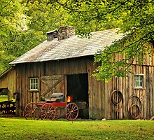 The Blacksmith Shop by Pat Abbott
