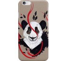 PANDA RIBBONS iPhone Case/Skin